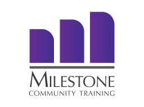 Milestone Community Training Logo